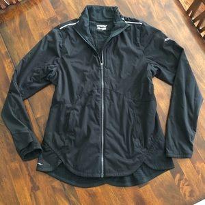 Saucony Running Jacket (Black, Medium)